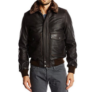 Cazadora Schott NYC 100th aniversario flight jacket